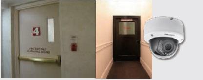 emergency-exit راهکارهای هایکویژن برای هتلها