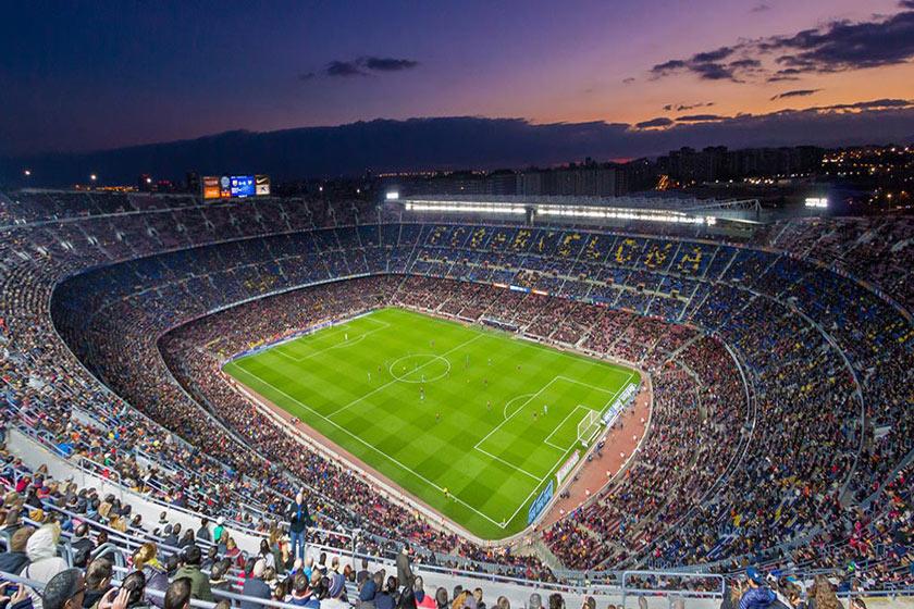estadiom افزایش امنیت با سیستم های نظارت تصویری برای تماشاگران مسابقات فوتبال