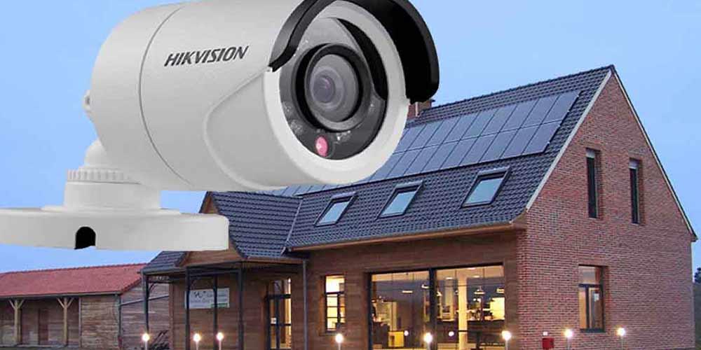 دوربین های امنیتی در منزل