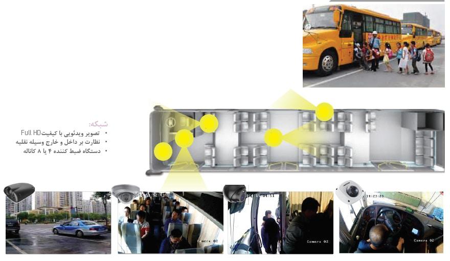 نظارت بر اتوبوس مدرسه برای افزایش امنیت