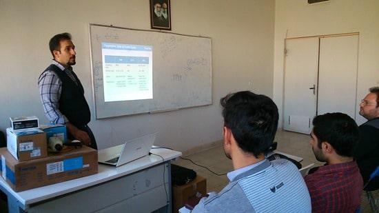 دوره آموزشی سیستم های نظارت تصویری VIVOTEK
