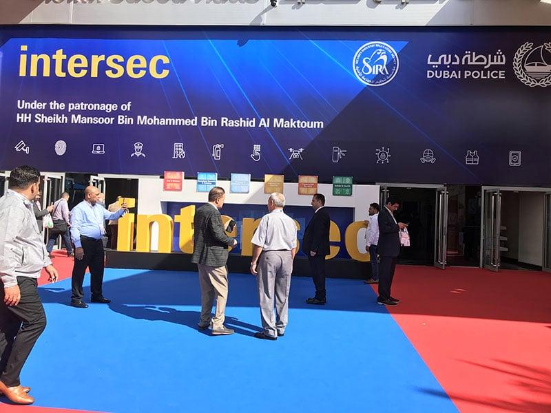 نمایشگاه Intersec 2020